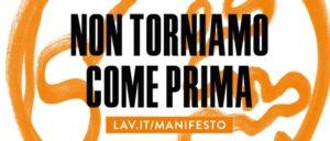 Manifesto LAV per una nuova normalità